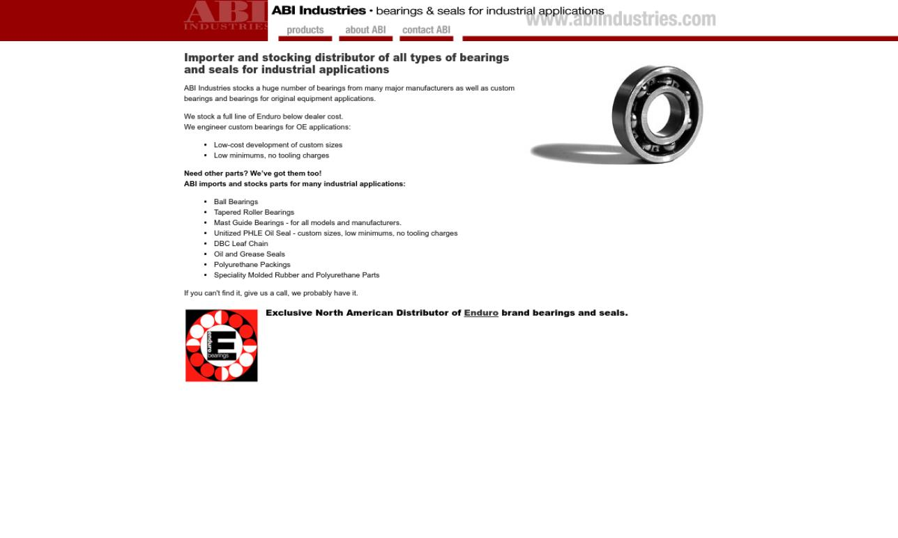 More Hydraulic Seal Manufacturer Listings