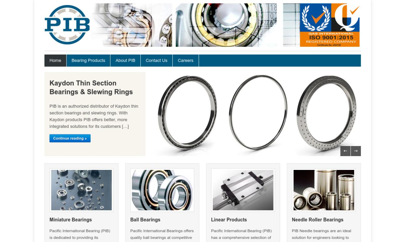 Pacific International Bearing, Inc.