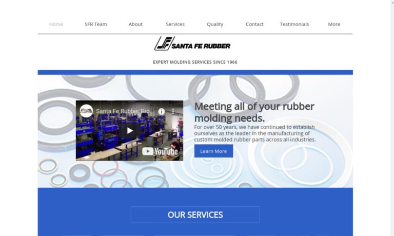 Santa Fe Rubber Products, Inc.