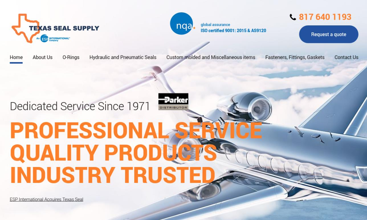 Texas Seal Supply Co , Inc  | Hydraulic Seals